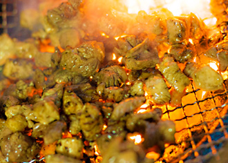 天草大王の炭火焼